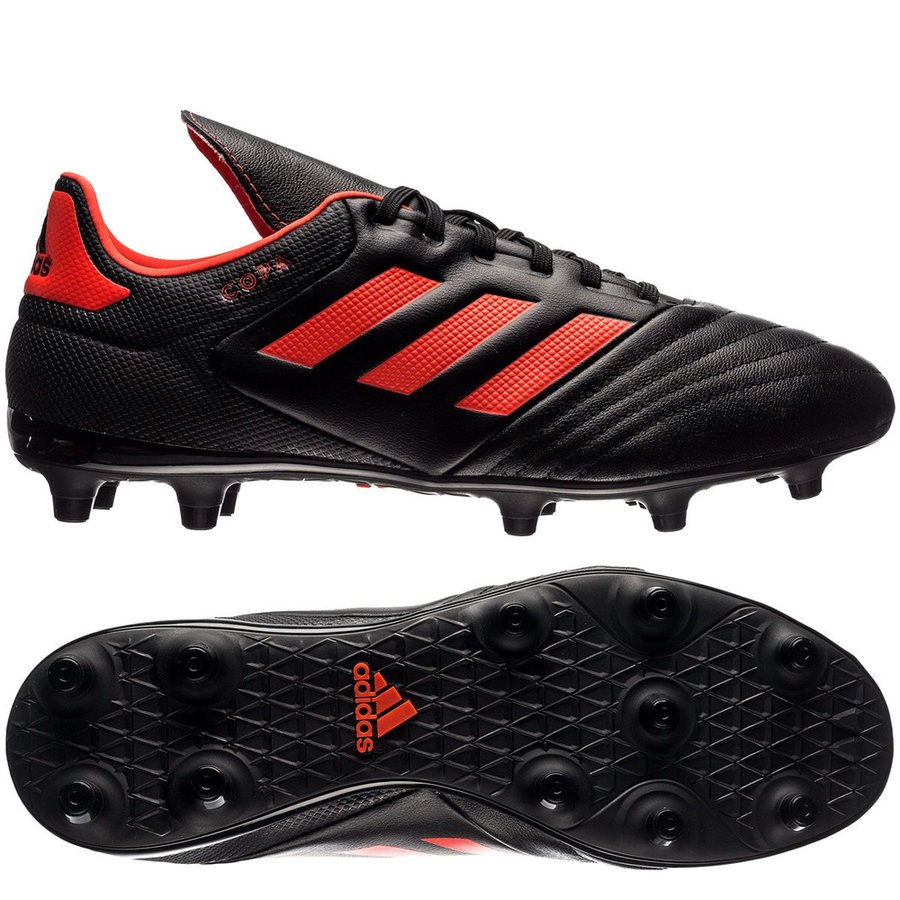 adidas copa 17.3 fg ag pyro storm - core black solar red - football ... 910633fb65