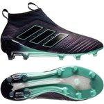 adidas ace 17+ purecontrol fg/ag thunder storm - legend ink/schwarz/türkis - fußballschuhe