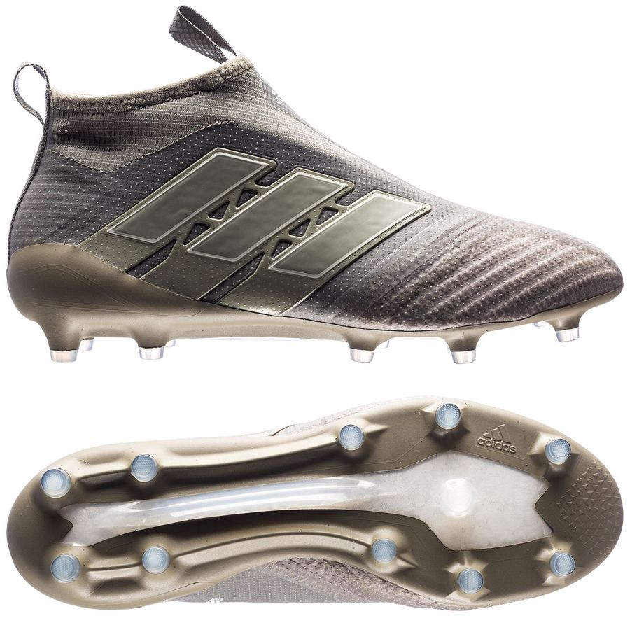 adidas ace 17+ purecontrol fgag earth storm - claysesame - football