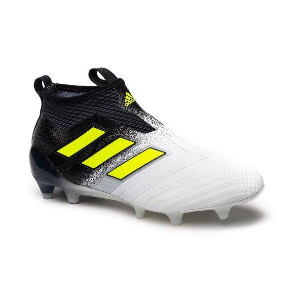 best website bfca9 e3aab ... adidas ace 17+ purecontrol fg ag dust storm - hvit gul sort ...