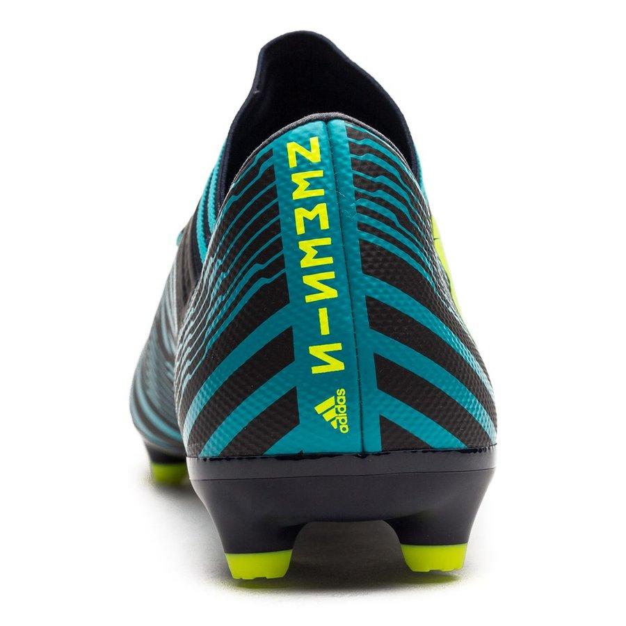 adidas Nemeziz 17.3 FGAG Ocean Storm Bleu MarineJauneBleu
