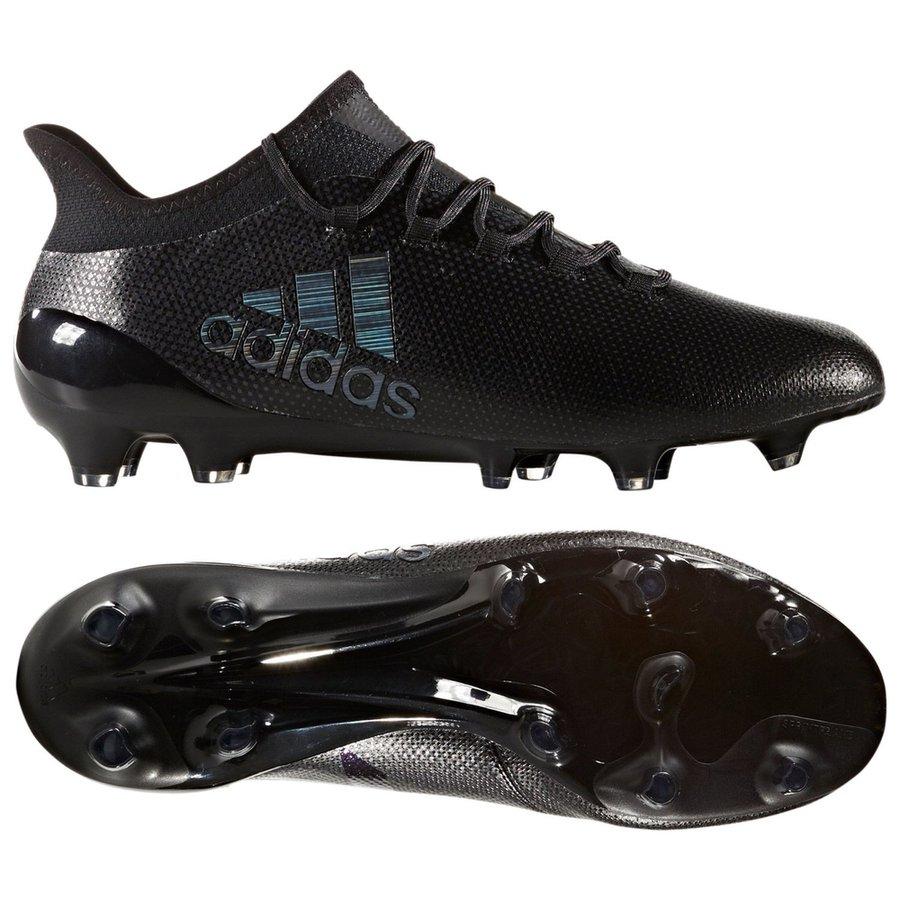 7300f6ca866af7 adidas x 17.1 fg ag magnetic storm - core black utility black - football ...