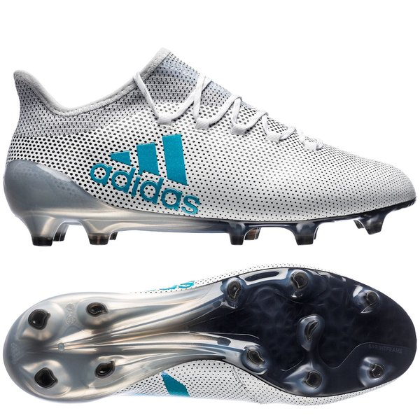 8cf6fa5b6 €220. Price is incl. 19% VAT. -30%. adidas X 17.1 FG/AG Dust Storm - Footwear  White/Energy Blue/Clear