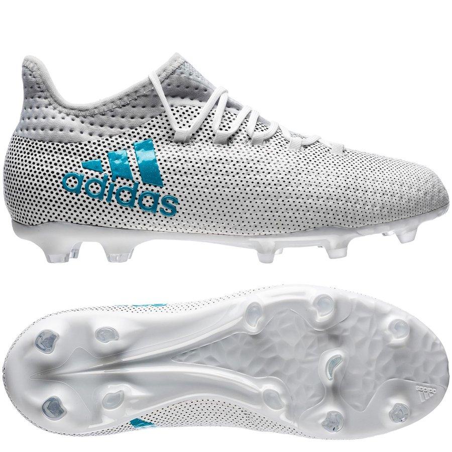 adidas X 17.1 Hvid Kunstgræs (AG), Græs (FG) Mænd