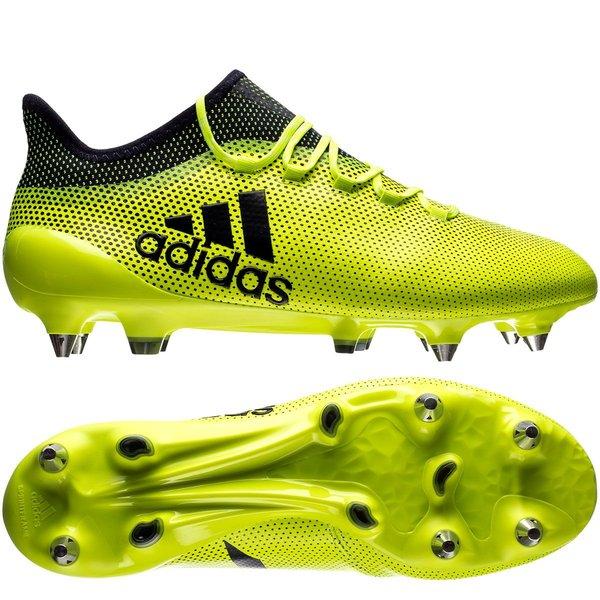 quality design 646dd 3b88b adidas X 17.1 SG Ocean Storm - Solar Yellow/Legend Ink | www ...
