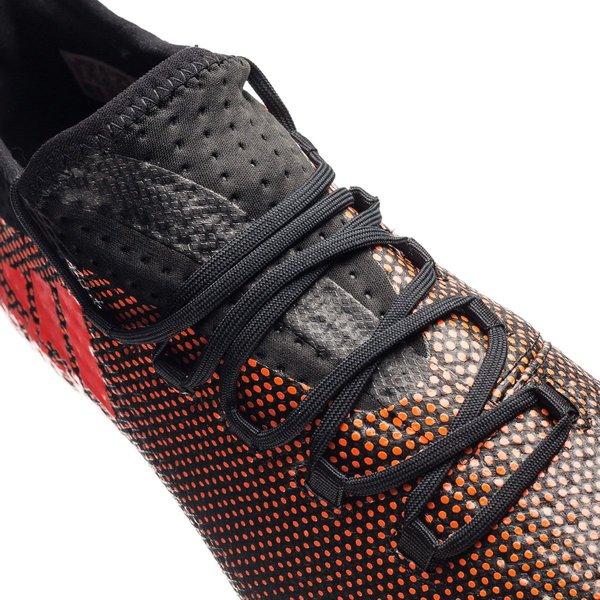 adidas X 17.2 FGAG Pyro Storm SortRødOransje | www