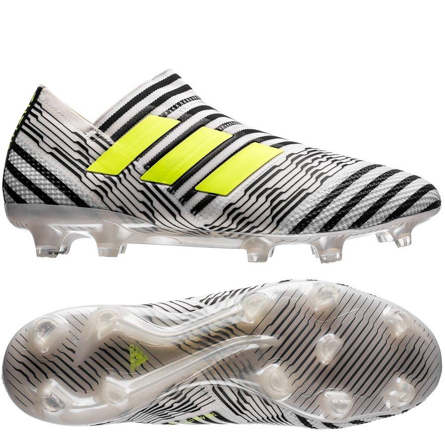 sports shoes 8e522 eca93 adidas nemeziz 17+ 360agility fgag dust storm - vitgulsvart ...