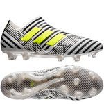 adidas Nemeziz 17+ 360Agility FG/AG Dust Storm - Footwear White/Solar Yellow/Core Black Kids