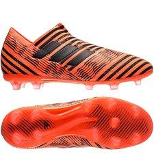 adidas Nemeziz 17+ 360Agility FG/AG Pyro Storm - Oranje/Zwart/Rood Kinderen