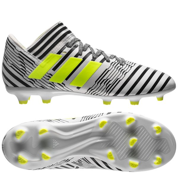 Adidas Chaussures adidas Nemeziz 17.3 FG blancjaune