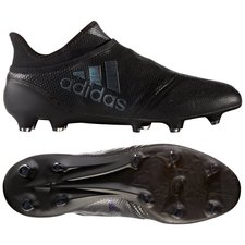 adidas X 17+ PureSpeed FG/AG Magnetic Storm - Sort
