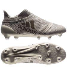 adidas x 17+ purespeed fg/ag earth storm - grå/brun - fodboldstøvler