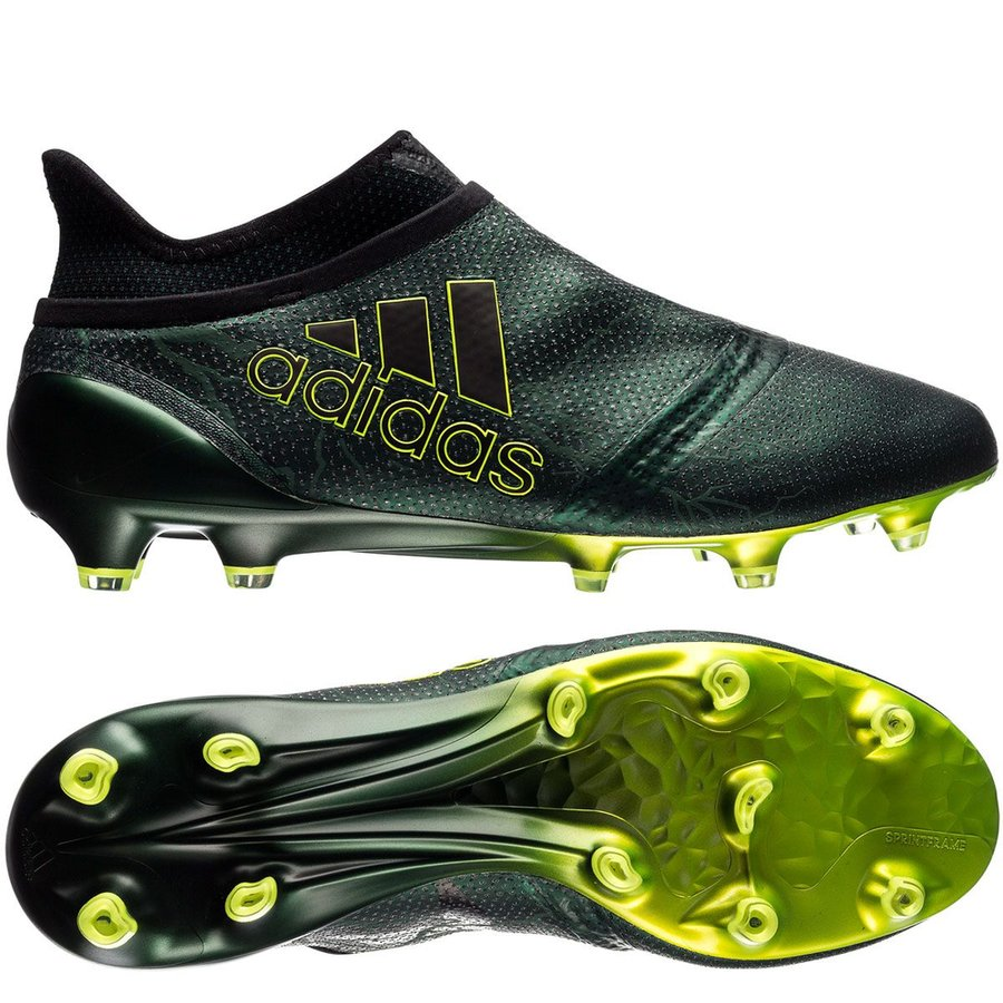 cfe998da621c40 adidas x 17+ purespeed fg ag thunder storm - core black solar yellow ...