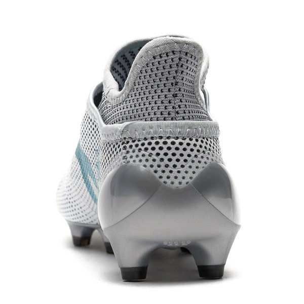 check out f2ee7 5059c ... adidas x 17+ purespeed fgag dust storm - hvitblågrå ...