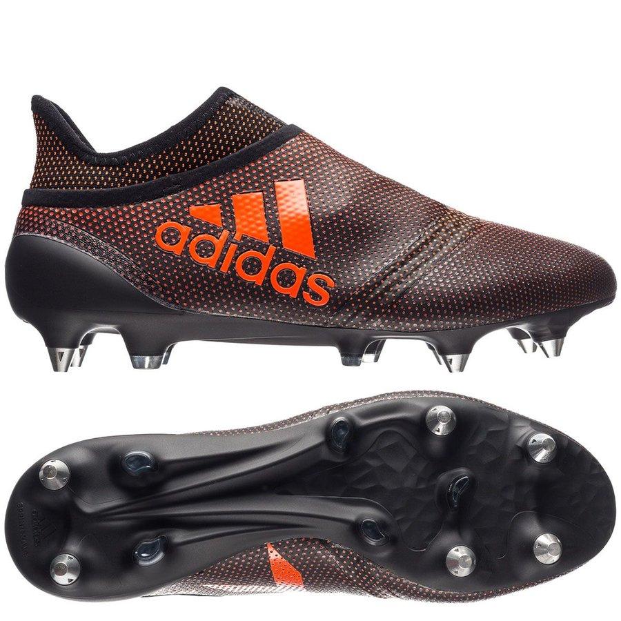 the best attitude 162ce b5606 ... inexpensive adidas x 17 purespeed sg pyro storm schwarz rot orange  fußballschuhe b883a 86043