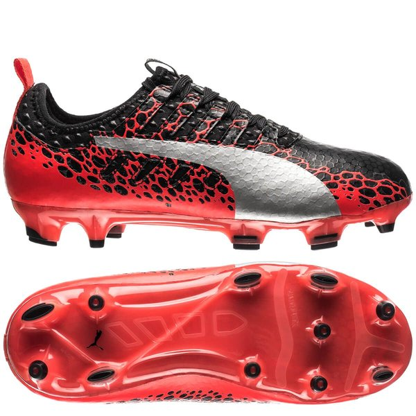 PUMA Evopower Vigor 1 Graphic FG Kids Soccer Shoe