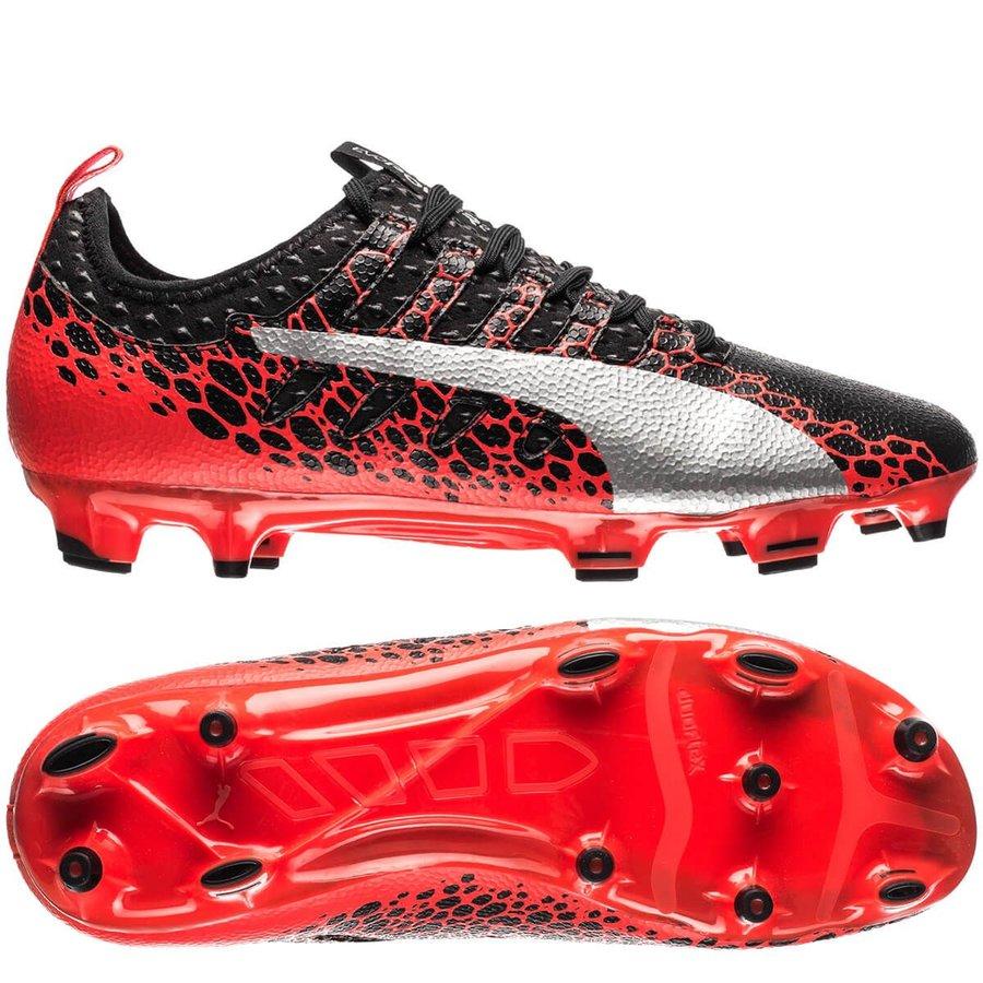 3a636e345c7 puma evopower vigor 2 graphic fg - black red - football boots ...