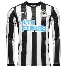 newcastle united home shirt 2017/18 l/s - football shirts