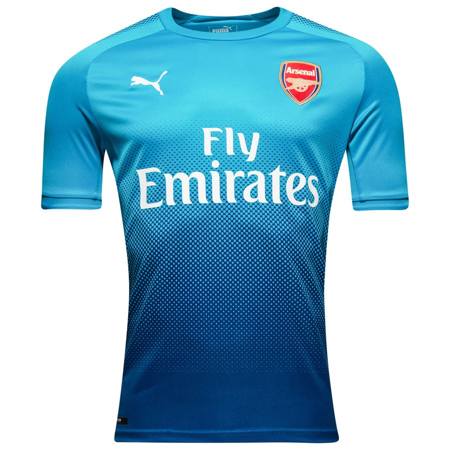 Arsenal maillot ext rieur 2017 18 for Maillot arsenal exterieur 2017
