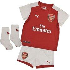 arsenal hjemmebanetrøje 2017/18 baby-kit børn - fodboldtrøjer