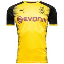 dortmund home shirt europe 2017/18 - football shirts