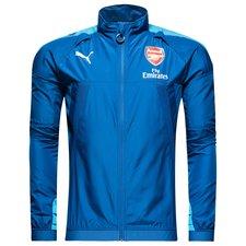 arsenal training jacket thermo-r vent away evotraining - blue - training jackets