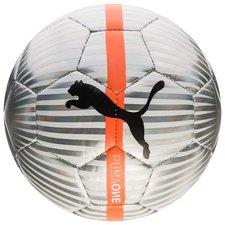 PUMA Fotboll One Mini - Vit/Chrome