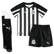 newcastle united home shirt 2017/18 mini-kit kids - football shirts
