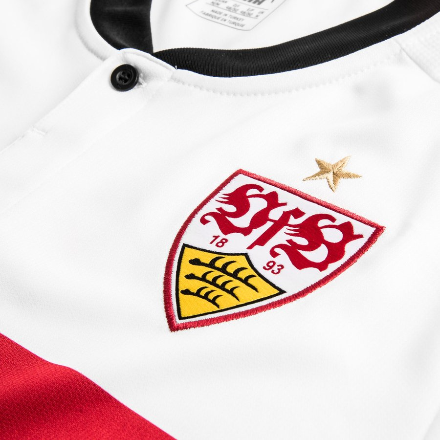 vfb stuttgart home shirt 2017 18. Black Bedroom Furniture Sets. Home Design Ideas