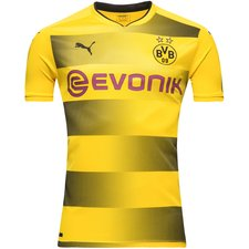 dortmund home shirt 2017/18 kids - football shirts