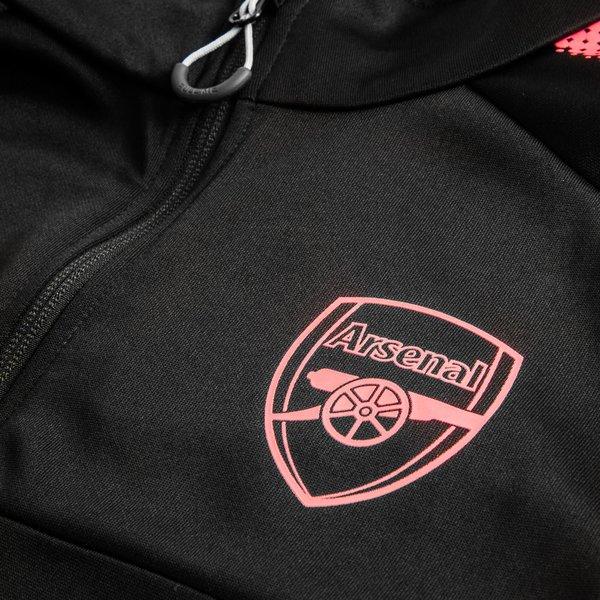 52cb2247570 Arsenal Training Jacket 1 4 Zip - Black Kids