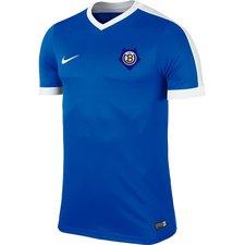 undløse bk - 1. hold hjemmebanetrøje blå børn - fodboldtrøjer