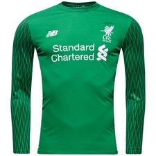 Liverpool Målvaktströja 2017/18 Grön Barn