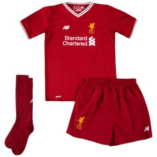 Liverpool Home Shirt 2017/18 Mini-Kit Kids