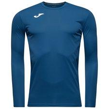 joma playershirt combi l/s - navy kids - football shirts