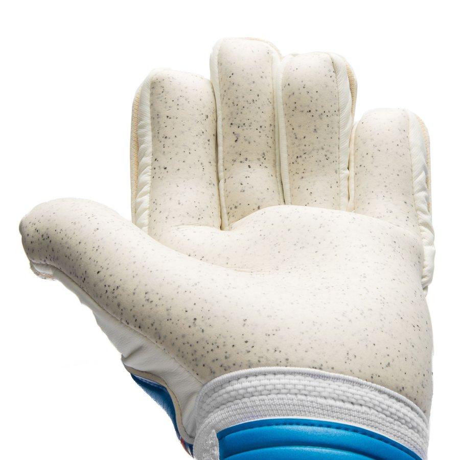 13b4d3d8e New Balance Goalkeeper Gloves Furon Negative Kasper Schmeichel - Blue/White  | www.unisportstore.com