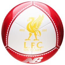 liverpool football dispatch 2017 - white/red - footballs