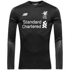 Liverpool Målvaktströja 2017/18 Svart Barn