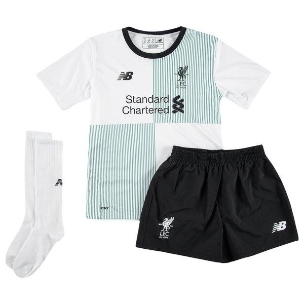 liverpool udebanetrøje 2017/18 mini-kit børn - fodboldtrøjer