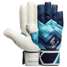 sells goalkeeper gloves silhouette pro cyclone - navy/blue - goalkeeper gloves