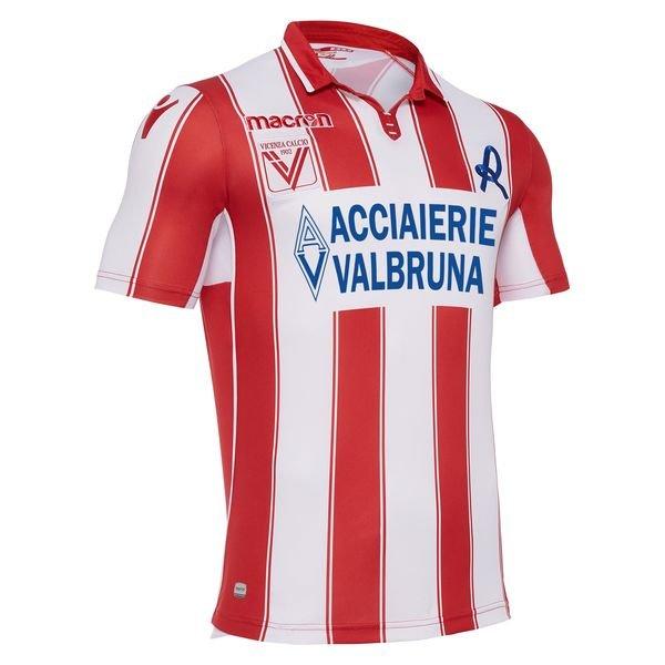 vicenza calcio hjemmebanetrøje 2017/18 - fodboldtrøjer