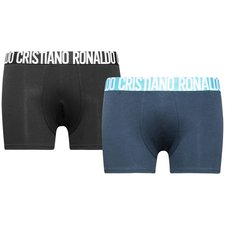 cr7 underwear trunks 2-pack - black/navy/white - underwear