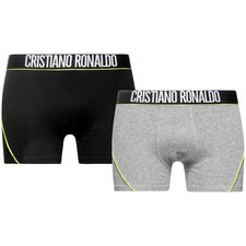cr7 underwear underbukser 2-pack sort/grå - undertøj
