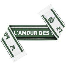 saint-étienne halstørklæde - grøn/hvid - merchandise