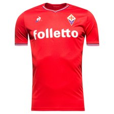 fiorentina away shirt 2017/18 red - football shirts