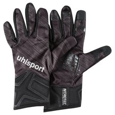uhlsport player gloves nitrotec - black/grey - player gloves