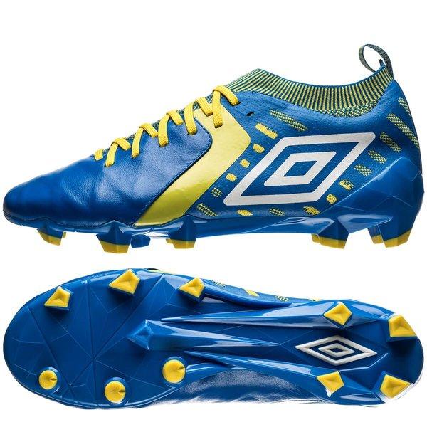 umbro medusae ii elite hg - blå/hvid/gul - fodboldstøvler