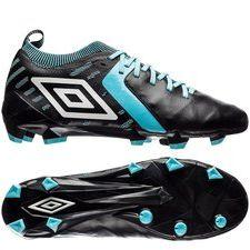 umbro medusae ii elite hg - sort/hvid/blå - fodboldstøvler