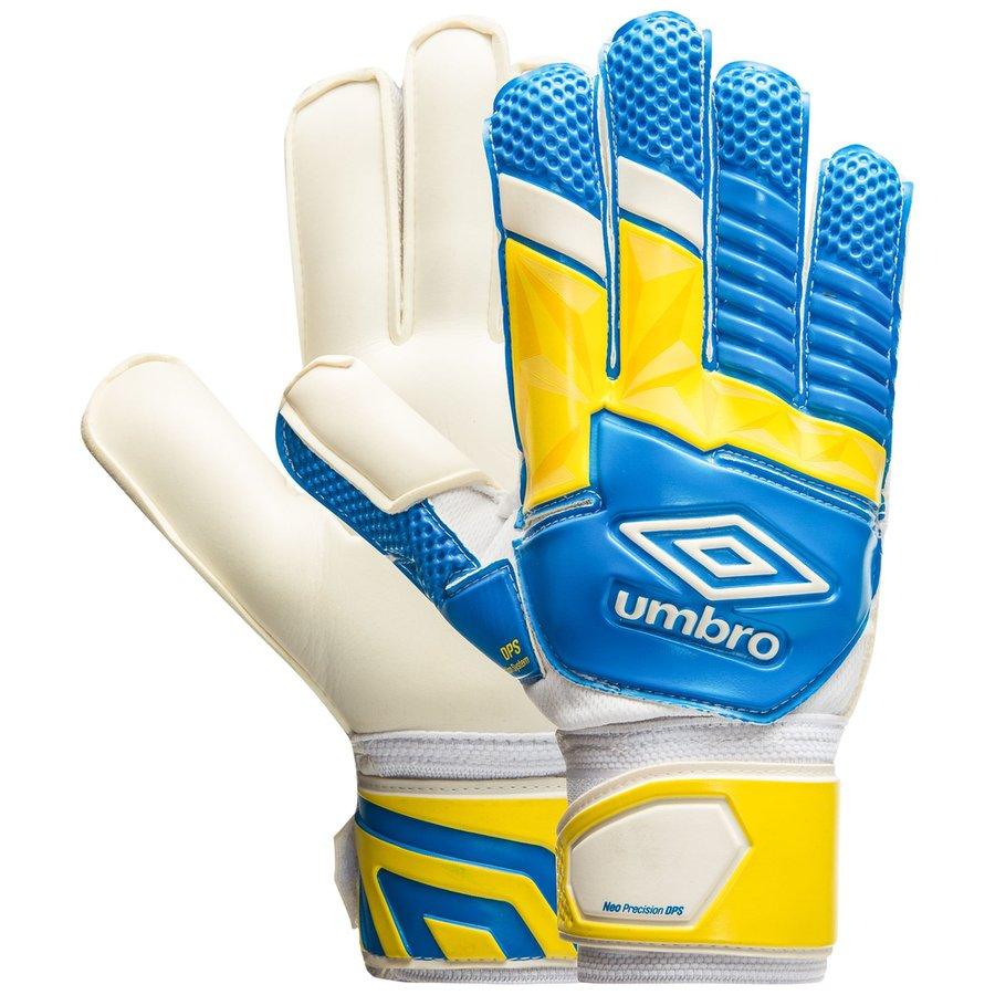 204d0f77b33c umbro goalkeeper gloves neo dps - electric blue white yellow - goalkeeper  gloves ...