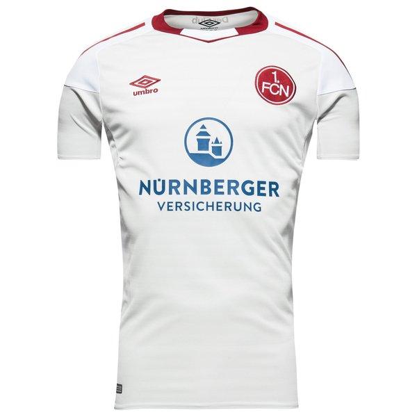 f.c. nürnberg udebanetrøje 2017/18 - fodboldtrøjer
